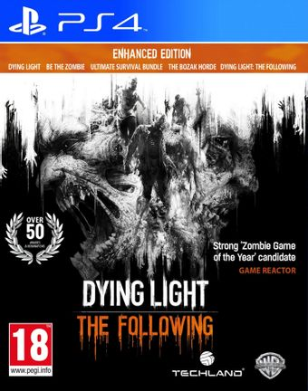 PS4 Dying Light: The Following Enhanced Edition