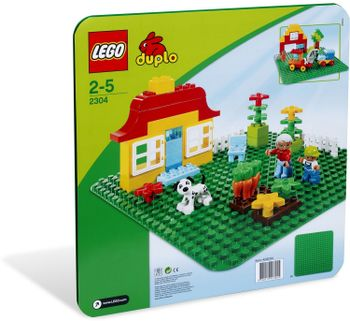LEGO Duplo - Large Green Building Plate 2304