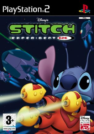 PS2 Disney's Stitch Experiments 626