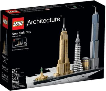 LEGO Architecture - New York City, USA 21028