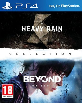 PS4 Heavy Rain and Beyond Two Souls Collection [USED] (Grade A)