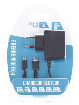 Freaks and Geeks AC Power Adapter (All 3DS, 2DS)