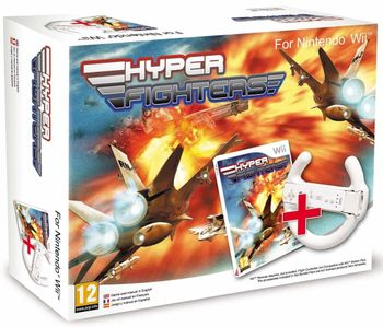 Wii Hyper Fighters incl. Wheel
