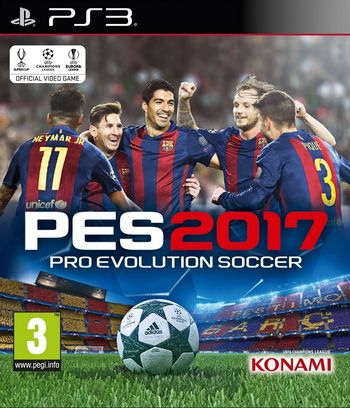 PS3 Pro Evolution Soccer 2017