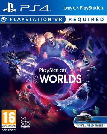 PS VR PlayStation VR Worlds