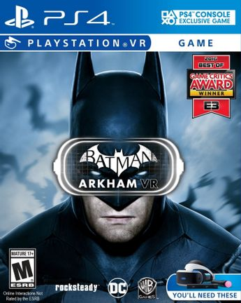 PS VR Batman Arkham VR US Version
