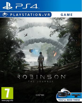 ps vr robinson: the journey | sony