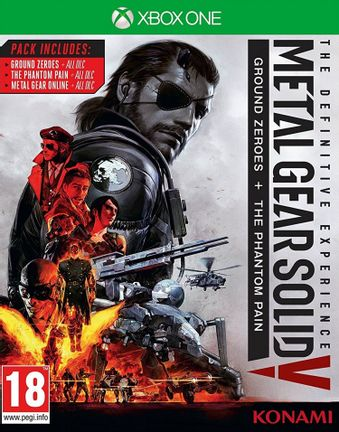 Xbox One Metal Gear Solid V: The Definitive Experience