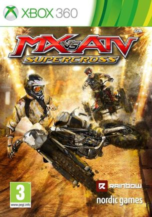 Xbox 360 MX vs ATV: Supercross [USED] (Grade B)