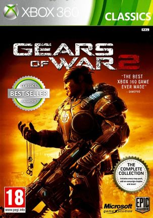 Xbox 360 Gears of War 2 Complete Collection