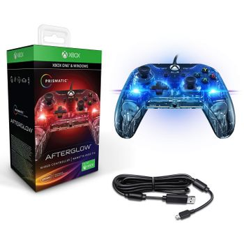 PDP Wired Controller Afterglow Prismatic - Multicolor (Xbox Series, Xbox One, PC)