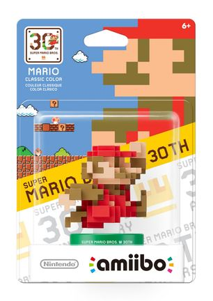 Amiibo Super Mario Bros. - 30th Anniversary Mario Classic Colours