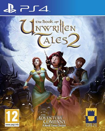 PS4 Book of Unwritten Tales 2