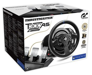 Thrustmaster T300 RS GT Edition Racing Wheel and Pedal Set (PS4, PS3, PC)
