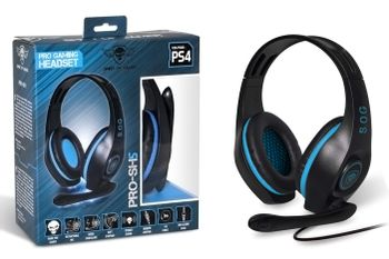 Spirit of Gamer PRO-SH5 Pro Gaming Headset Wired - Black/Blue (PS4, Xbox One, Switch)