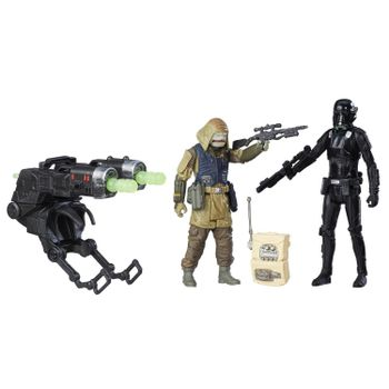 Star Wars: Rogue One - Rebel Commando Pao and Death Trooper Figures