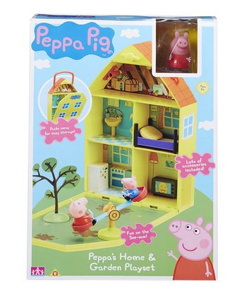 Peppa Pig: Peppa's Home And Garden Playset