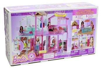 Barbie: 3-Story Townhouse Fully Furnished, 3 Floors, 5 Rooms