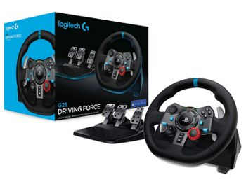 Logitech G29 Driving Force Racing Wheel (PS4, PS3, PC)