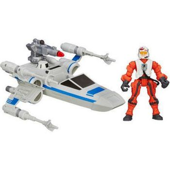 Star Wars: The Force Awakens - Resistance X-Wing And Resistance Pilot