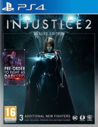PS4 Injustice 2 Deluxe Edition incl. 3 DLC Fighters