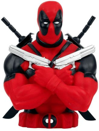 Marvel - Deadpool with Pistols Money Bank Bust, 16cm