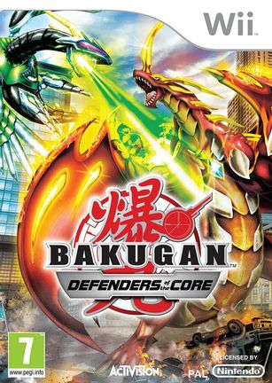 Wii Bakugan: Defenders of the Core