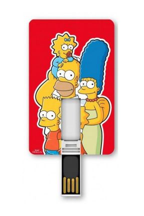 Tribe USB Flash Drive Card: The Simpsons - Family, 8 GB