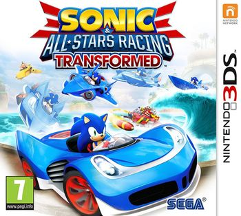 3DS Sonic And All-Stars Racing: Transformed