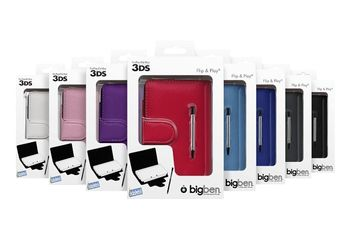 BigBen Flip and Play Case Assortment incl. Stylus (3DS)