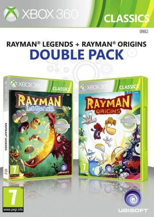 Xbox 360 Rayman Legends and Rayman Origins Double Pack