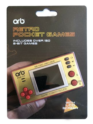 ORB Retro Pocket Games with LCD Screen incl. Over 150 8-Bit Games