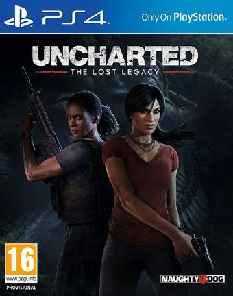 PS4 Uncharted: The Lost Legacy incl. Russian Audio