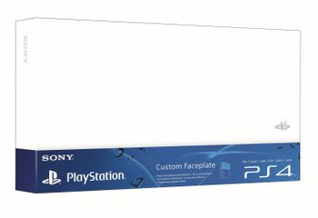 Custom Faceplate HDD Cover Official - Glacier White (PS4 Fat)