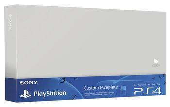 Custom Faceplate HDD Cover Official - Silver (PS4 Fat)