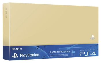 Custom Faceplate HDD Cover Official - Gold (PS4 Fat)