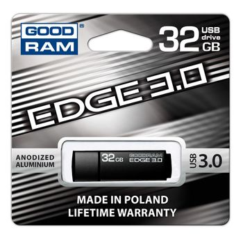 Goodram Edge USB 3.0 Flash Drive - Black, 32 GB