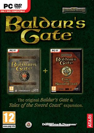 PC Baldur's Gate with Tales of the Sword Coast Expansion