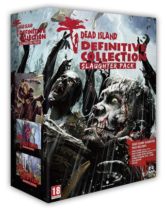 PS4 Dead Island Definitive Edition Slaugter Pack