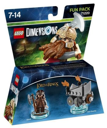 LEGO Dimensions Fun Pack: Lord of the Rings - Gimli 71220