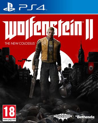 PS4 Wolfenstein II: The New Colossus incl. Russian Audio