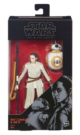 Star Wars: The Black Series - Rey (Jakku) and BB-8 Action Figures