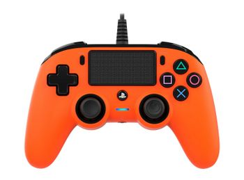Nacon Compact Controller Wired - Orange (PS4)