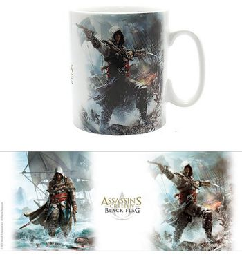 Assassin's Creed - Black Flag Mug, 460ml