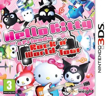 3DS Hello Kitty and Friends: Rockin' World Tour