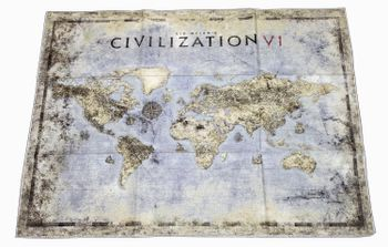 Sid Meier's Civilization VI - Cloth Map, 48cm x 36cm