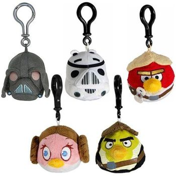 Angry Birds Star Wars - Clip On Plush Assortment