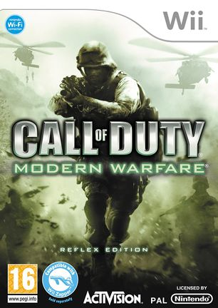 Wii Call of Duty: Modern Warfare Reflex