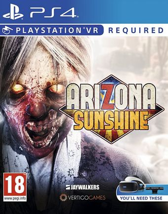 PS VR Arizona Sunshine