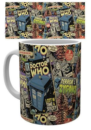 Doctor Who - Comic Books Mug